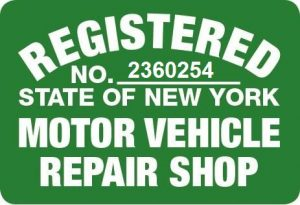 regional repair shop sign